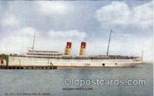 shi008348 - Steamer North Land Postcard Postcards