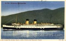 shi008355 - C.P.R. Princess Marguerite Steamship Postcard Postcards