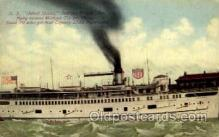 shi008358 - S.S. United States, Indiana Transport Line, Steamer Postcard Postcards