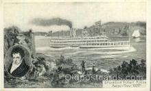 shi008373 - Steamboat Robert Fulton Postcard Postcards