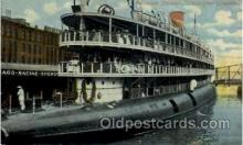 shi008381 - Excursion Steamer Christopher Coloumbus postcard postcards