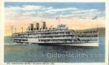 shi008385 - Steamer Washington Irving, Hudson River Day Line, Postcard Postcards