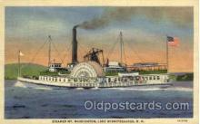 shi008386 - Steamer Mt. Washington, Lake Winnipesaukee, NH, USA Postcard Postcards