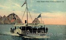 shi008390 - Glass Bottom Boat, Catalina Island, California, USA Postcard Postcards