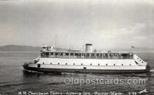 shi008413 - M.R. Chessman Ferry - Astoria Ore. - Megler Washington, USA Postcard Postcards