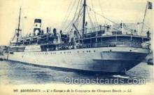 shi008422 - Bordeaux Steamer Ship Postcard Postcards