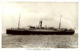shi008427 - R.M.S. Calgaric Steamer Ship Postcard Postcards