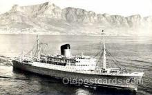 shi008433 - SS Rhodesia Castle Steamer Ship Postcard Postcards