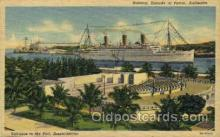 shi008443 - SS. Empress of Austrailia, Port,  Amphitheater Steamer Ship Postcard Postcards