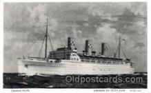 shi008444 - Empress of Scotland Steamer Ship Postcard Postcards