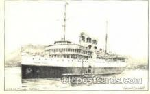 shi008447 - C.P.R. SS Princess Kathleen Steamer Ship Postcard Postcards