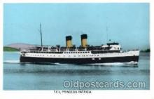 shi008452 - TEV Princess Patricia Steamer Ship Postcard Postcards