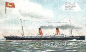 shi008457 - Cunard Line SS. Campania Steamer Ship Postcard Postcards