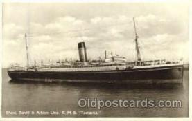shi008461 - RMS Tamaroa Steamer Ship Postcard Postcards