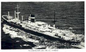 shi008468 - Donaldson line LTD SS Lismoria Steamer Ship Postcard Postcards
