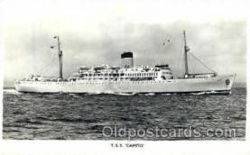 shi008469 - TSS Camito Steamer Ship Postcard Postcards