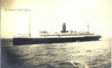 shi008475 - SS Fort Victoria Steamer Ship Postcard Postcards