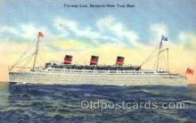 shi008476 - Furness Line Bermuda-New York Boat Steamer Ship Postcard Postcards