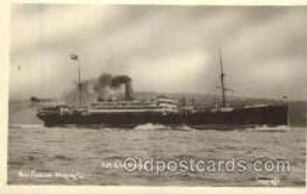 shi008477 - RMS Remuera Steamer Ship Postcard Postcards