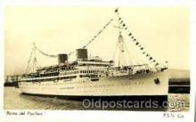 shi008480 - Reina del Pacifico Steamer Ship Postcard Postcards