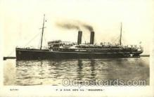 shi008483 - SS Macedonia Steamer Ship Postcard Postcards