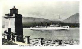 shi008518 - Empress, Vancouver, Canada Steamer Ship Postcard Postcards
