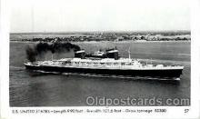 shi008522 - S.S. United States Steam Ship Postcard Postcards