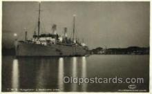 shi008536 - T.M.S. Kungsholm Steam Ship Postcard Postcards