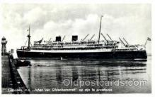 shi008542 - Johan Van Oldenbarnevelt Steam Ship Postcard Postcards