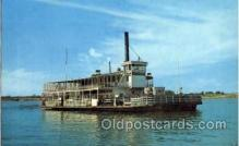 shi008547 - Mississippi River Ferry Boat Steam Ship Postcard Postcards