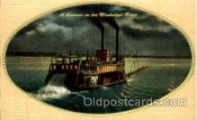shi008551 - Steam Ship Postcard Postcards