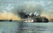 shi008556 - Excursion Boats, Pittsburg, PA USA Steam Ship Postcard Postcards