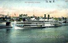 shi008559 - The Hendrick Hudson Steam Ship Postcard Postcards