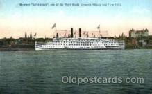 shi008560 - Steamer Adirondack Steam Ship Postcard Postcards