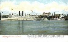 shi008563 - Steamer Morse, Albany NY USA Steam Ship Postcard Postcards