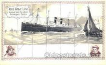 shi008565 - Red Star Line Steam Ship Postcard Postcards