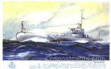 shi008566 - HM Submarine Pandora Steam Ship Postcard Postcards