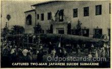 shi008567 - Two Man Japanese Suicide Submarine Steam Ship Postcard Postcards
