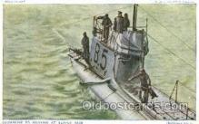 shi008569 - Submarine B5 Steam Ship Postcard Postcards