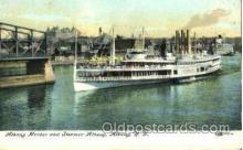 shi008572 - Steamer Albany Steam Ship Postcard Postcards