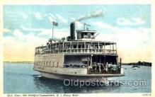 shi008573 - R.I. Ferry Boat Steam Ship Postcard Postcards
