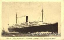 shi008575 - S.S. City of St. Louis Steam Ship Postcard Postcards