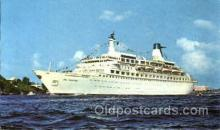 shi008576 - M/S Sea Venture Steam Ship Postcard Postcards