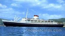 shi008605 - T/N Cristoforo Columbo Steam Ship Postcard Postcards