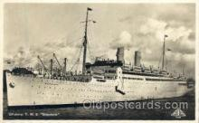 shi008610 - T.M.S. Gripsholm Steam Ship Postcard Postcards