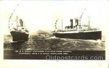 shi008635 - S.S. Great Northern & Nothern Pacific Steam Ship Postcard Postcards