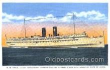 shi008636 - S.S. Yale Steam Ship Postcard Postcards