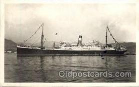 shi008644 - Chargeurs Reunis Steamer Ship Ships Old Vintage Postcard Postcards