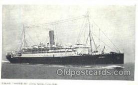 shi008653 - RMSP Asturias Steamer Ship Ships Old Vintage Postcard Postcards