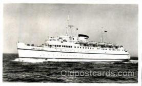 shi008667 - Bundesbahn-Hochsee-Fahrschiff Deutschland Steamer Ship Ships Old Vintage Postcard Postcards